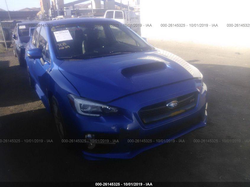 Subaru Wrx Sti Launch Edition >> 2015 Subaru Wrx 26145325 Iaa Insurance Auto Auctions
