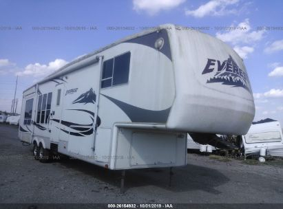 2005 KEYSTONE EVEREST 37FT 4 SLIDE