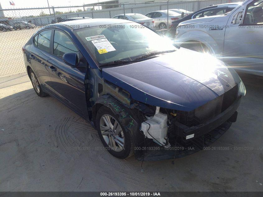 2019 Hyundai Elantra 26193395 Iaa Insurance Auto Auctions