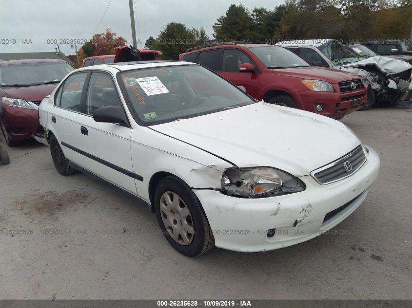 1999 Honda Civic Lx >> 1999 Honda Civic 26235628 Iaa Insurance Auto Auctions