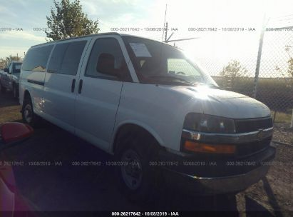 2013 CHEVROLET EXPRESS G3500 LT