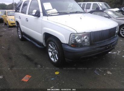 2003 CHEVROLET TAHOE K1500