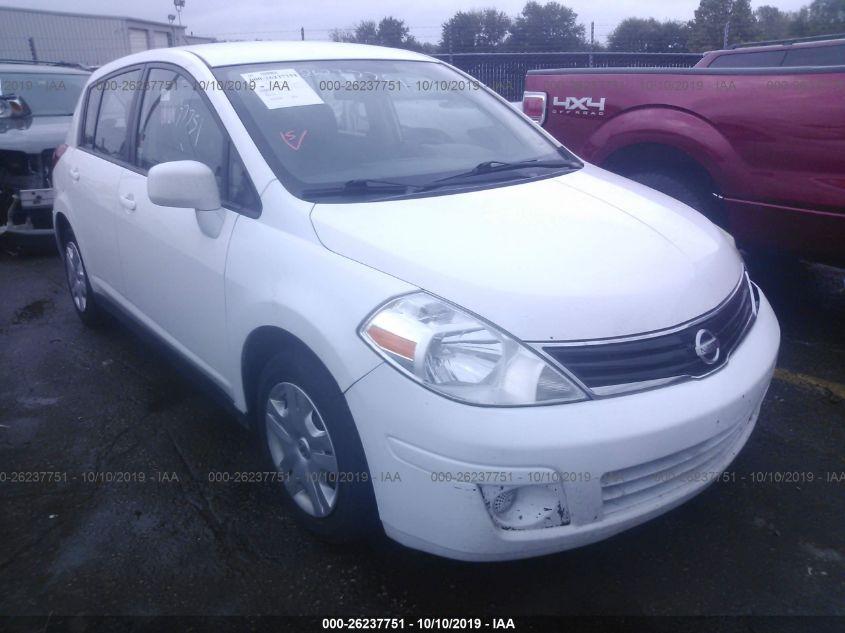 2012 NISSAN VERSA, 26237751 | IAA-Insurance Auto Auctions on