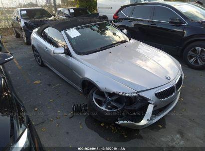 2010 BMW 650 I
