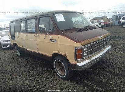 1982 DODGE RAM VAN B250