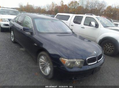 2003 BMW 745 I