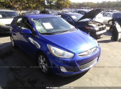 2012 Hyundai Accent Gs Mpg >> 2012 Hyundai Accent 26329891 Iaa Insurance Auto Auctions