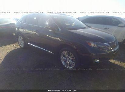 2011 LEXUS RX 450H 450