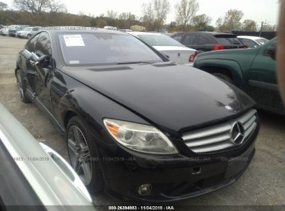 2009 MERCEDES-BENZ CL 550 4MATIC