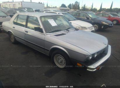 1983 BMW 528 E AUTOMATIC