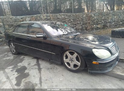 2005 MERCEDES-BENZ S 500
