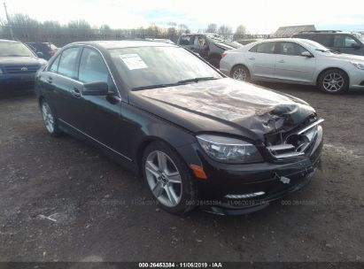 2011 MERCEDES-BENZ C 300 4MATIC