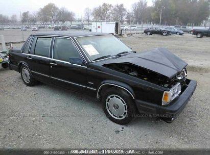 1987 VOLVO 760 GLE