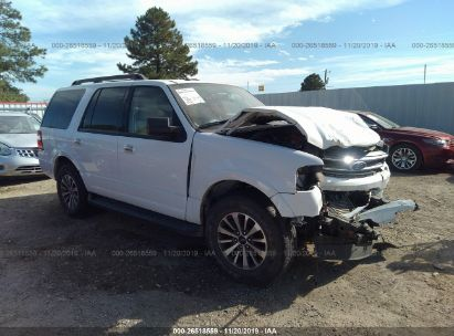 2017 FORD EXPEDITION XLT/KING RANCH