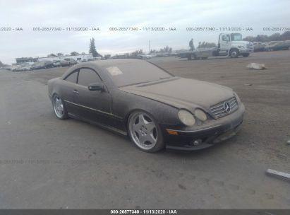 2003 MERCEDES-BENZ CL-CLASS 500