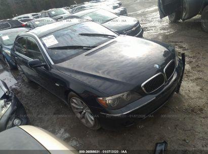 2008 BMW 750 LI