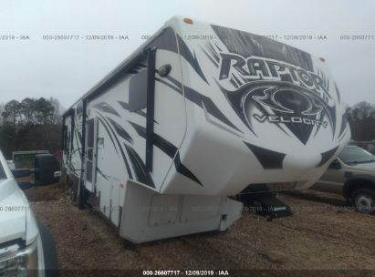 2013 KEYSTONE RV RAPTOR 310TS