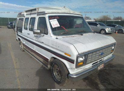 1990 FORD ECONOLINE E150 VAN
