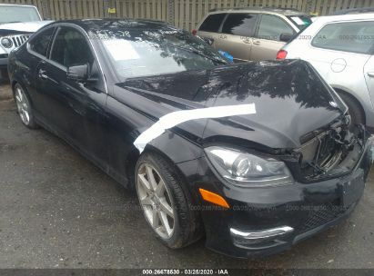2015 MERCEDES-BENZ C 350 4MATIC