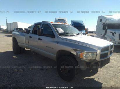 2003 DODGE RAM 3500 ST/SLT