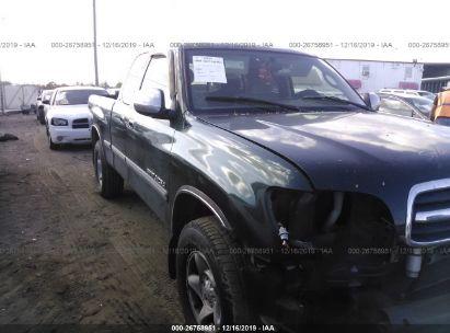2000 TOYOTA TUNDRA ACCESS CAB/ACCESS CAB SR5