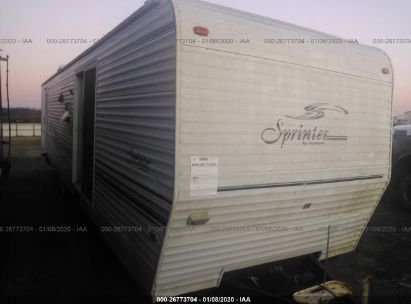 2001 KEYSTONE SPRINTER 377TBS TRAVEL TR