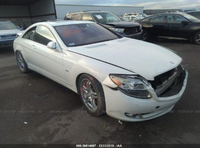 2008 MERCEDES-BENZ CL 600