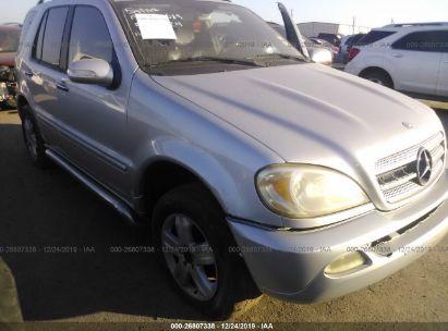 2005 MERCEDES-BENZ ML 350
