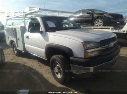 2003 CHEVROLET SILVERADO C2500 HEAVY DUTY