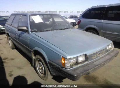 1989 SUBARU DL 4WD