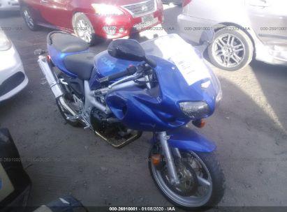 2001 SUZUKI SV650 S