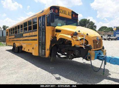 2018 BLUE BIRD SCHOOL BUS / TRANSIT BUS