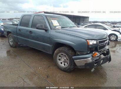 2007 CHEVROLET SILVERADO K1500 CLASSIC CREW CAB