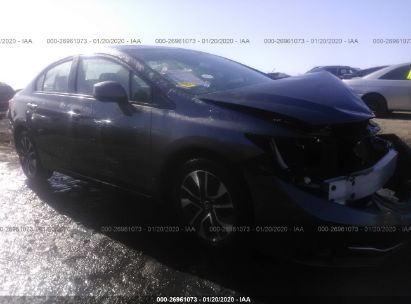 2013 HONDA CIVIC SDN EXL