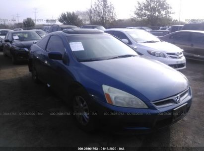 2006 HONDA ACCORD CPE EX
