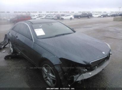 2012 MERCEDES-BENZ E 550