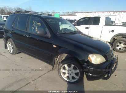 1999 MERCEDES-BENZ ML 430