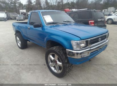 1993 TOYOTA PICKUP 1/2 TON SHORT WHLBSE DX