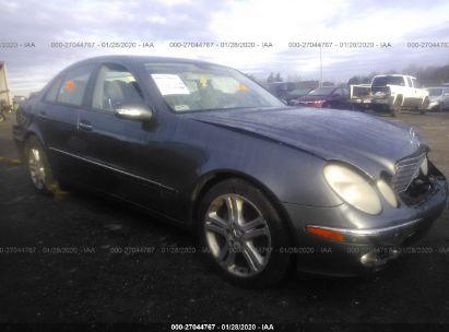 2005 MERCEDES-BENZ E 500