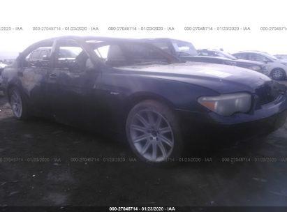 2002 BMW 745 LI