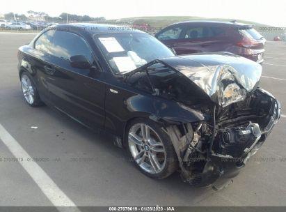 2012 BMW 1 SERIES I