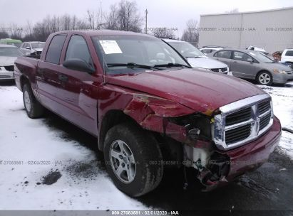 2006 DODGE DAKOTA QUAD SLT