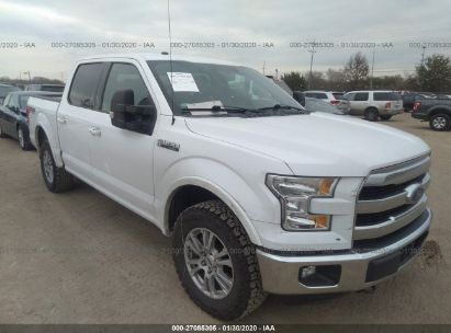 2016 FORD F150 SUPERCREW