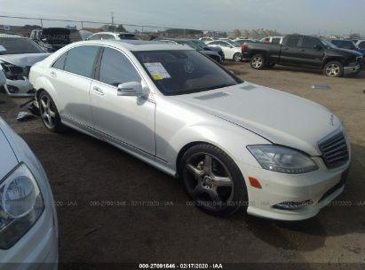 2011 MERCEDES-BENZ S 550