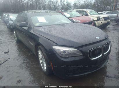 2012 BMW 750 XI