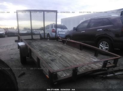 2000 UTILITY EQUP TRAILER