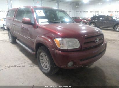 2006 TOYOTA TUNDRA DOUBLE CAB LIMITED