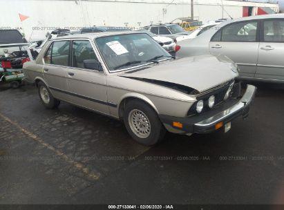 1984 BMW 528 E AUTOMATIC