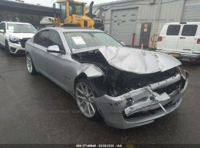 2013 BMW 750 XI
