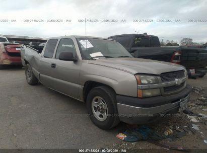 2003 CHEVROLET SILVERADO 1500 C1500